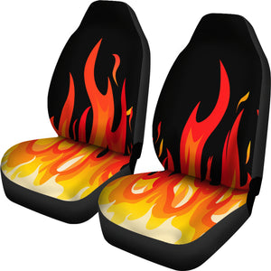 Flame Bandana Car Seat Covers