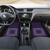 purple auto floor mats