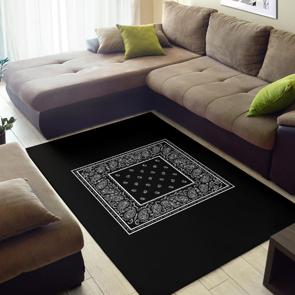 black carpeting