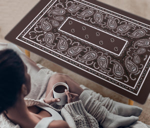 Brown Bandana Rectangular Coffee Tables