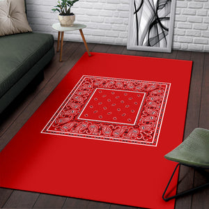 red area rugs