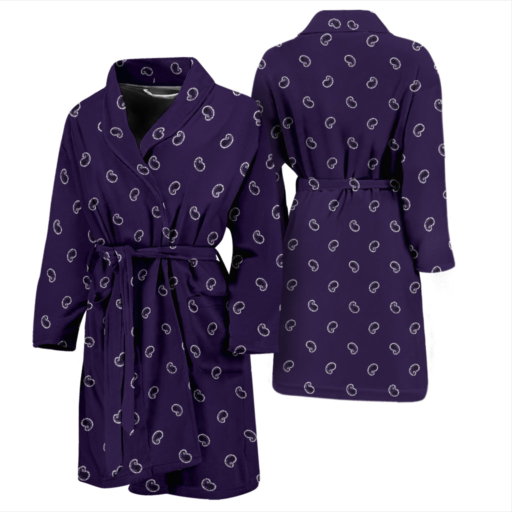 purple bandana men's robe