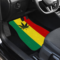Rasta marijuana Car Floor Mats