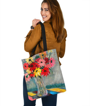 The Crystal Vase Tote Bag from Fine Art Painting