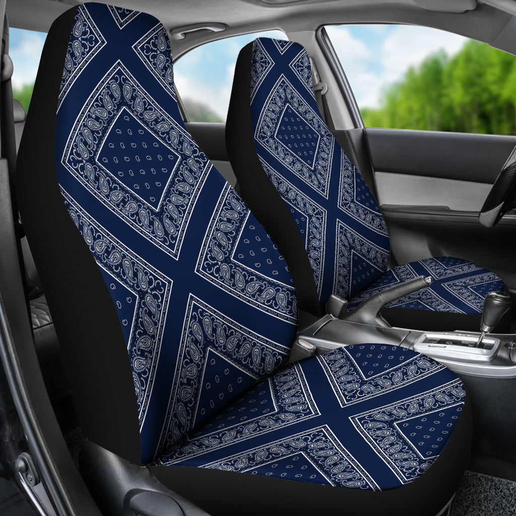 Navy car seat covers