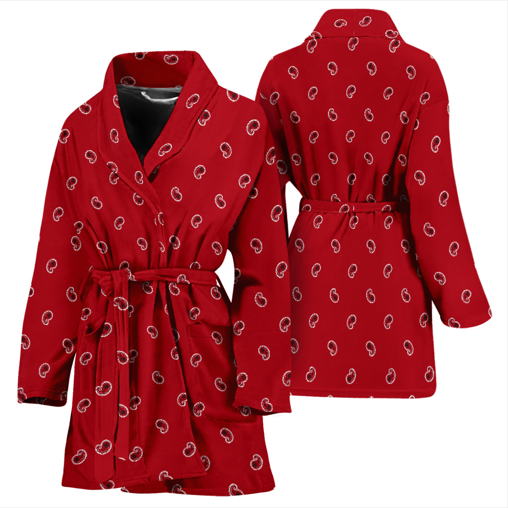 red bandana robe