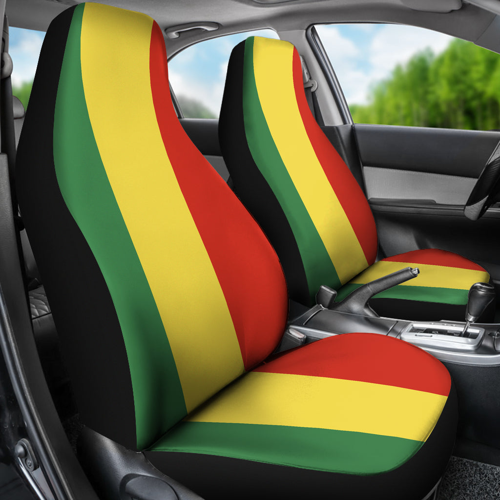 reggae car seat covers