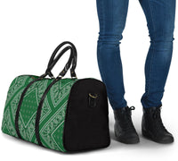 green bandana carry on bag