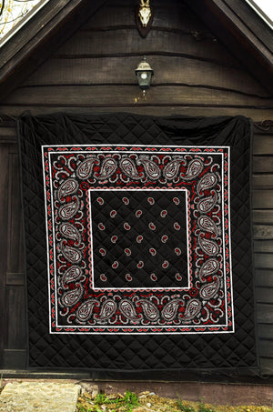 Wicked Black Bandana Quilts