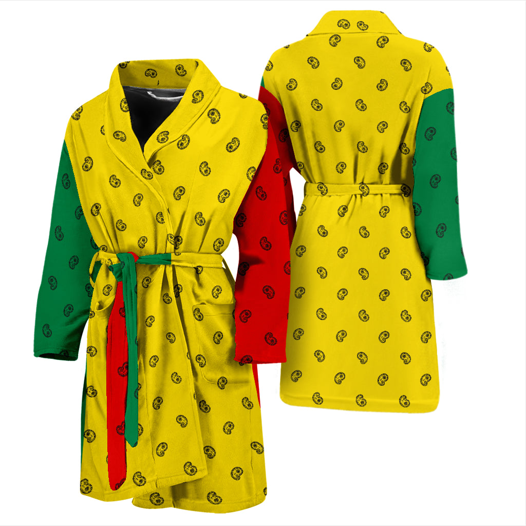 Rastafarian bathrobe for men