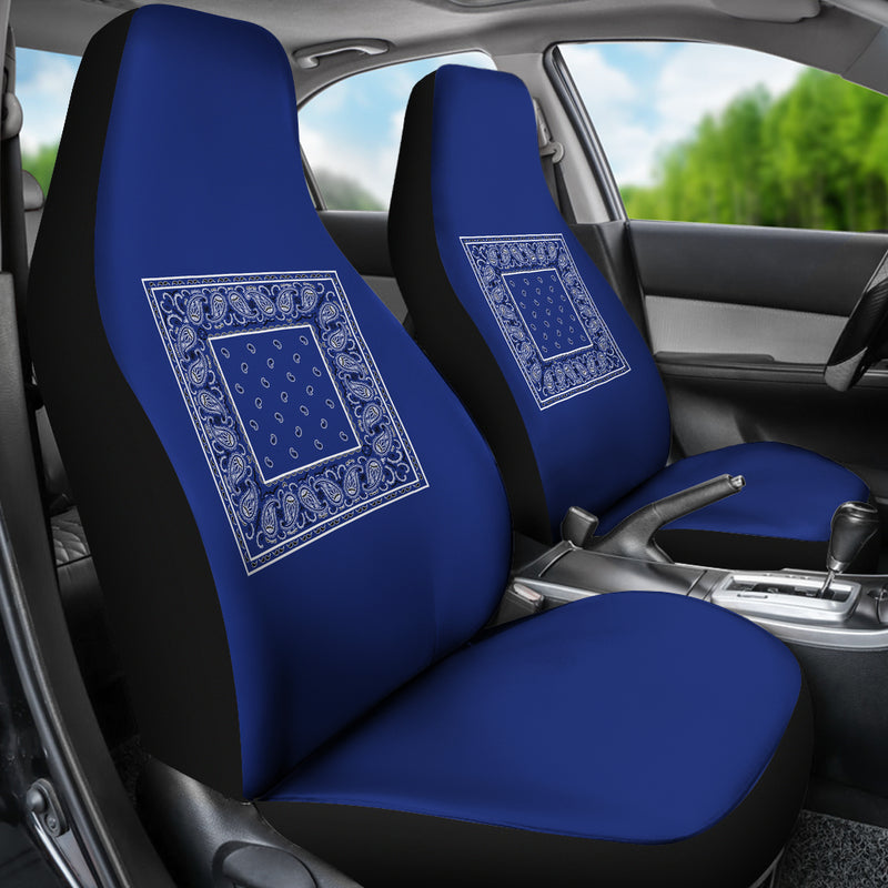 blue seat covers