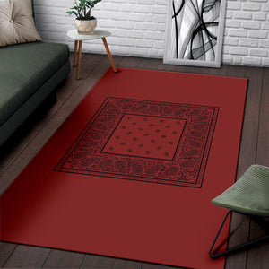 red throw rugs