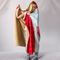 Canadian Flag Hooded Blankets