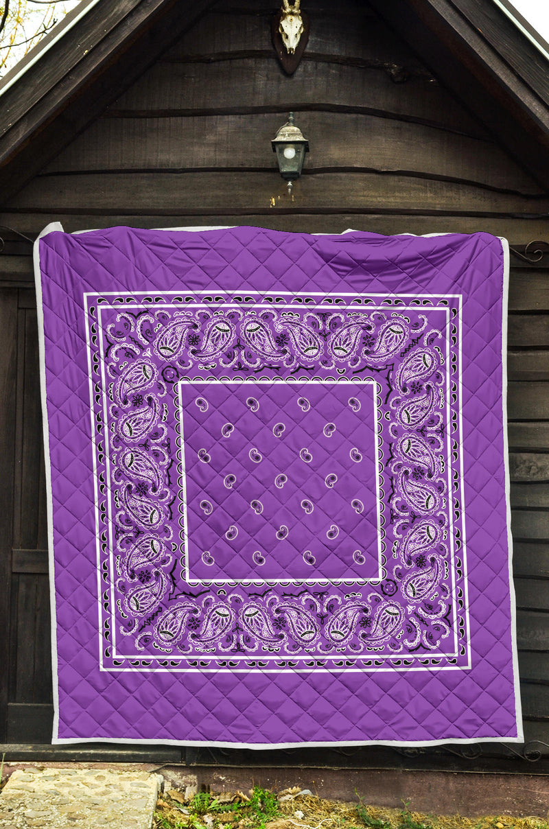 Purple Bandana Bedding