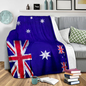 Australia Flags Throw Blanket