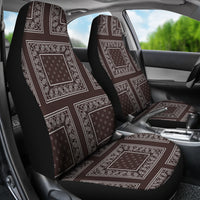 Coffee brown car seat cover