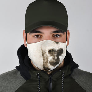 endangered gibbon covid face mask
