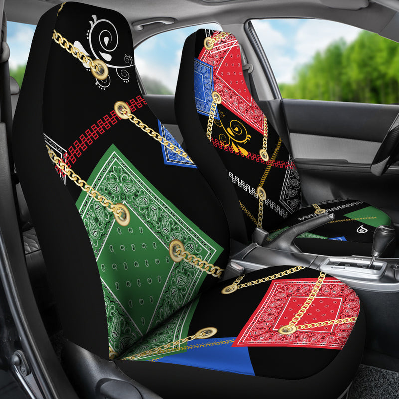 Hop Hop Bandanas Car Seat Covers