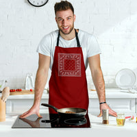 Maroon Chef Aprons