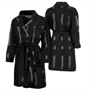 African mudcloth bathrobe