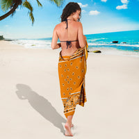 citrus orange sarong
