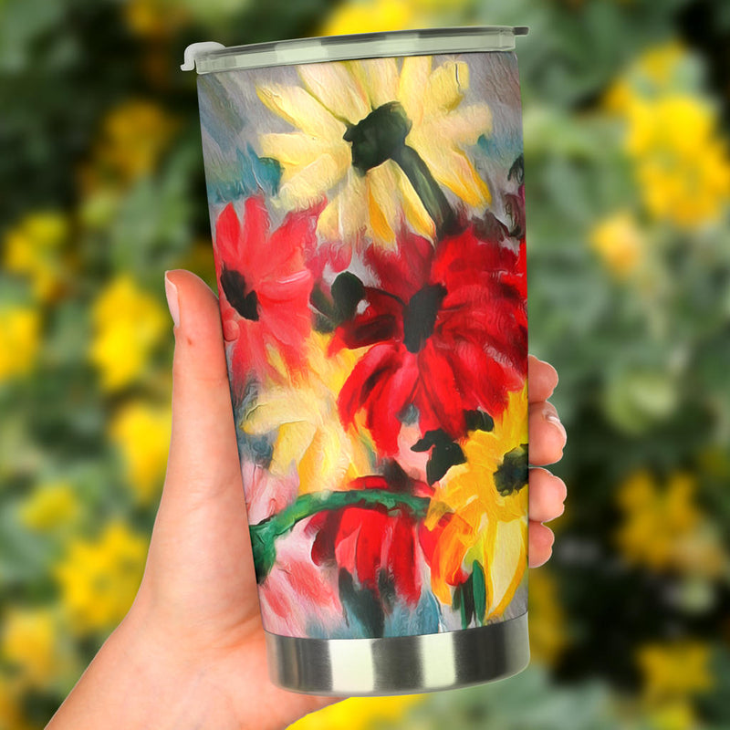 The Crystal Vase Fine Art Tumbler from Original Painting