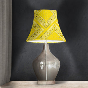 Yellow Bell Lampshade