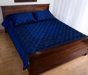 blue and black quilt sets