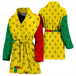 rasta flag robe for women