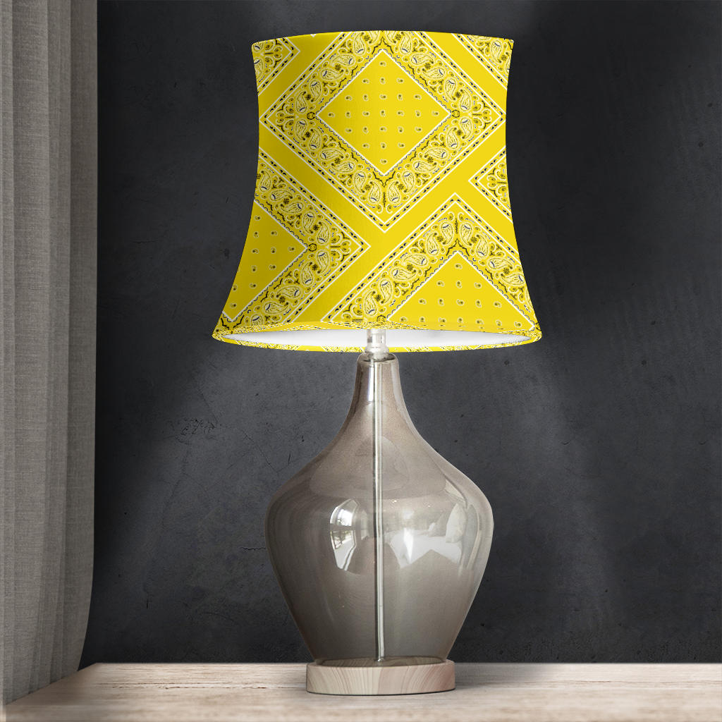 Yellow Bandana Lampshades