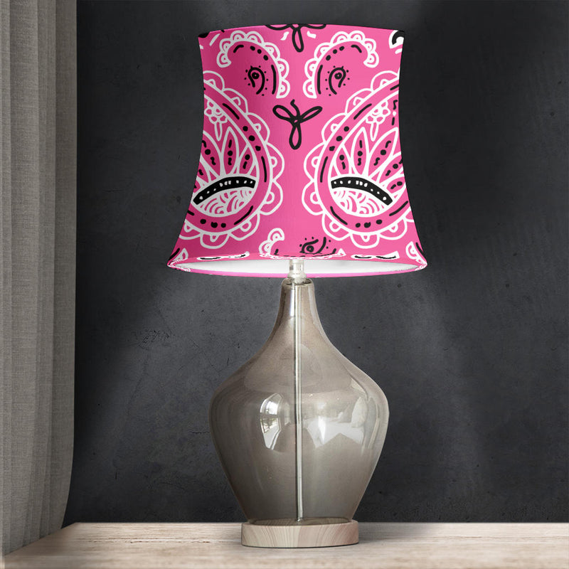 Pink Drum Lampshades
