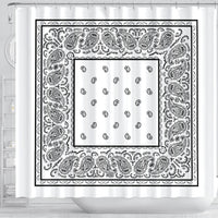 Bandana Shower Curtains