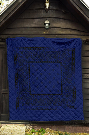 Blue and Black Bandana Quilts