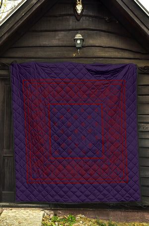 Purple and Red Bandana Quilts