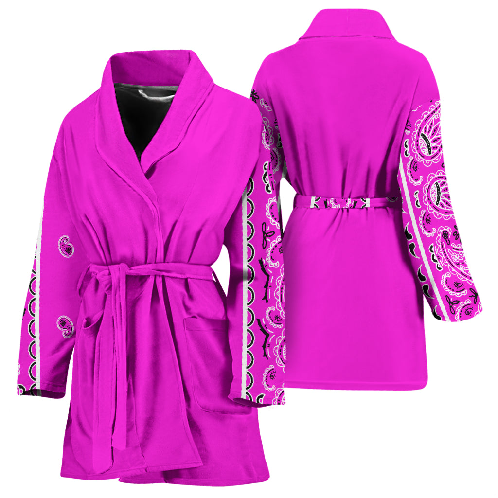 pink robes for women