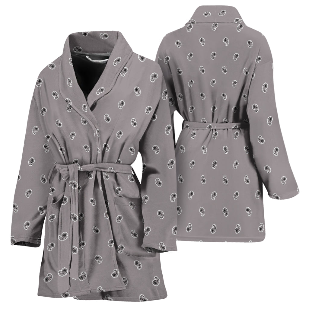 gray robe for women