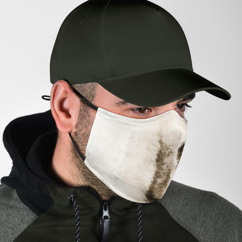 Adjustable Crested Gibbon Face Mask