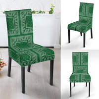 Classic Green Bandana Dining Chair Covers - 4 Patterns