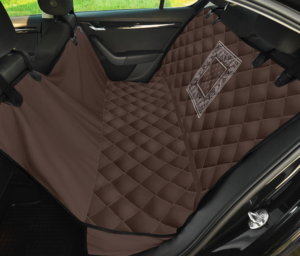 brown back seat cover