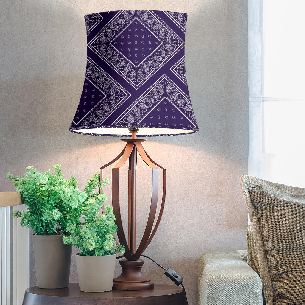 Purple Drum Lampshade