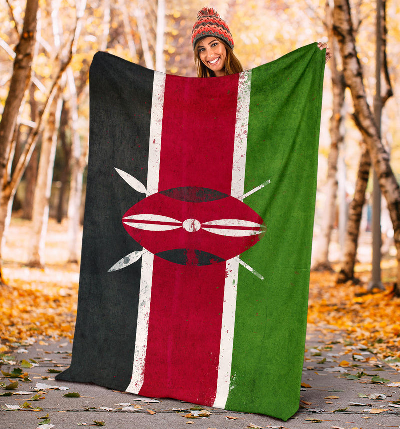 Kenya Flag Blanket