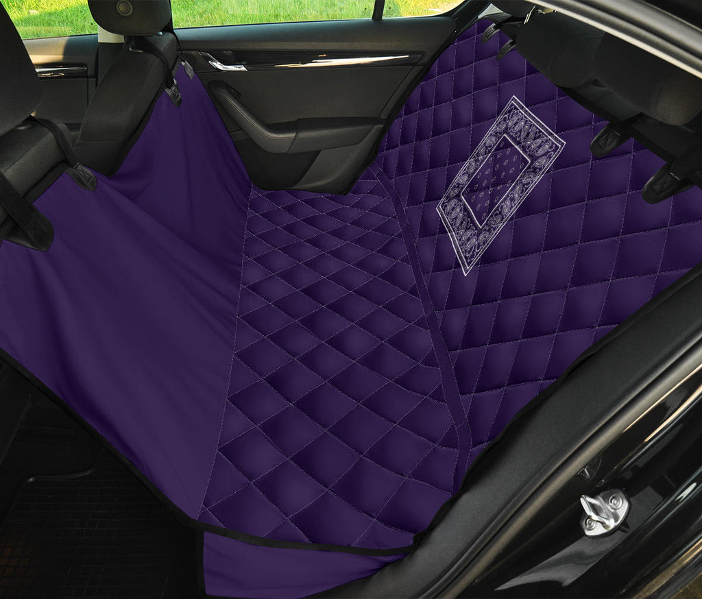 purple back seat covers for pets