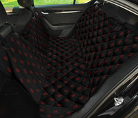 Black and Red Paisley Car Pet Seat Covers