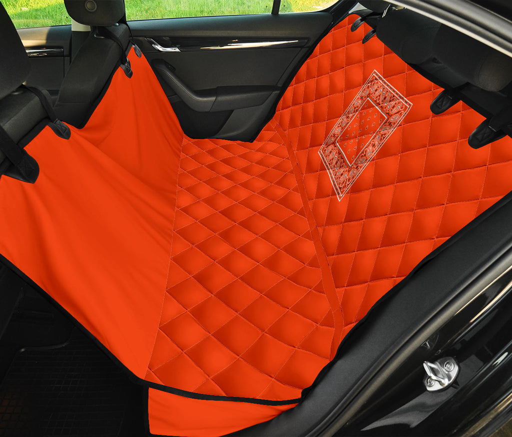 orange car seat covers for pets