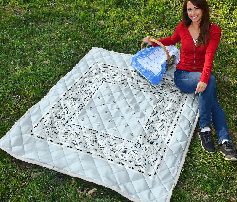 Light Blue Bandana Quilts