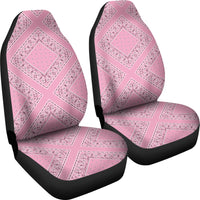 diamond pink car seat cover