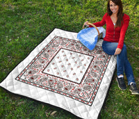 Wicked White Bandana Quilts