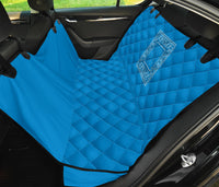 light blue pet safety seat cover