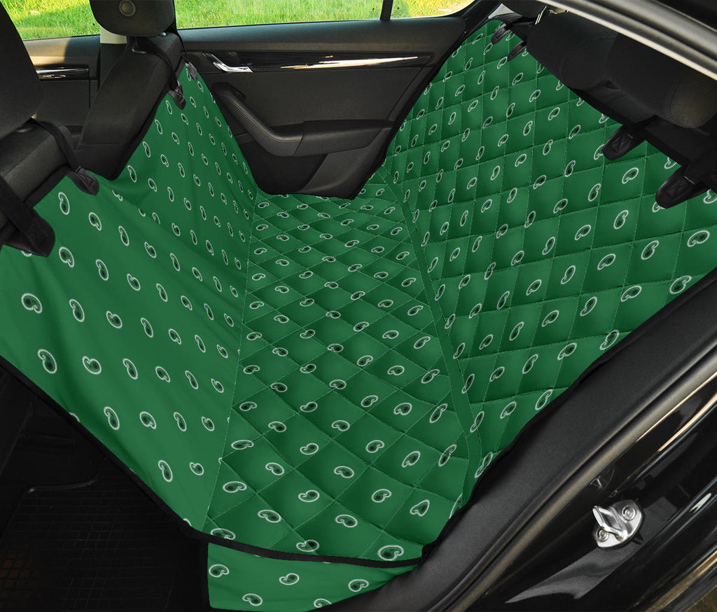 green back seat cover