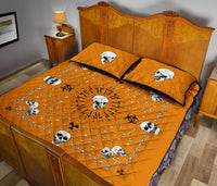 orange bandana bedding set